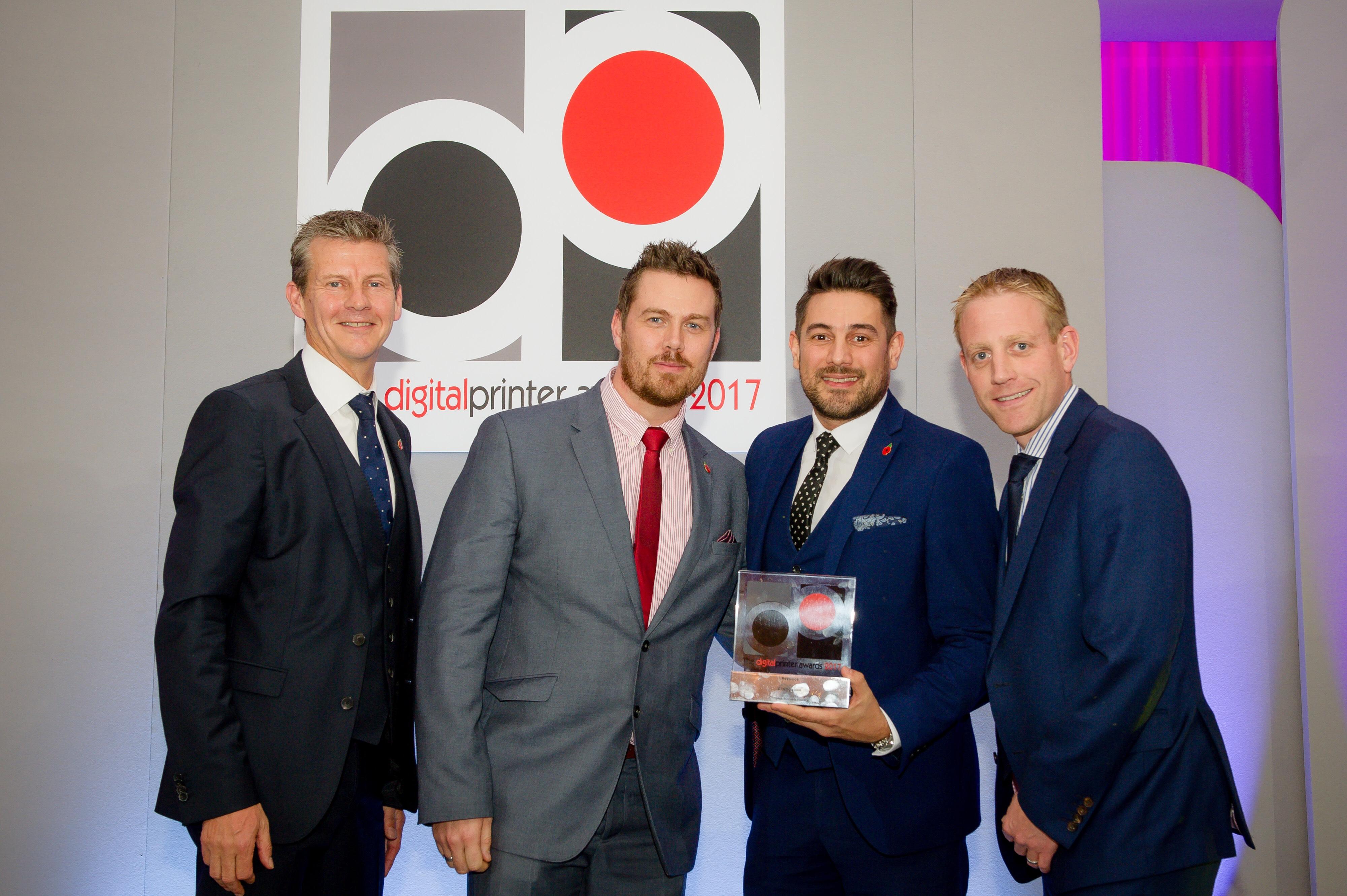 Resource wins Digital Print Award